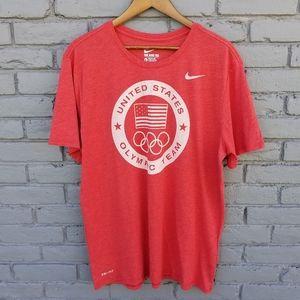 Nike Dri-Fit Team USA Olympic T-Shirt - XL